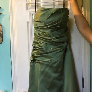 *Strapless Prom Dress* Brand: Alfred Angelo
